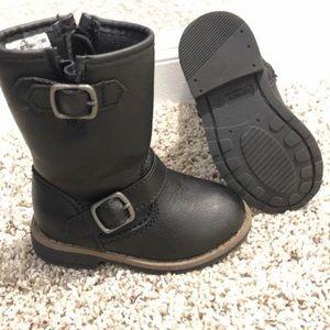 Toddler Black Carter Boots 6c $12